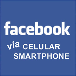 Entrar Facebook celular smartphone