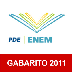 Gabarito do Enem 2011 no Inep