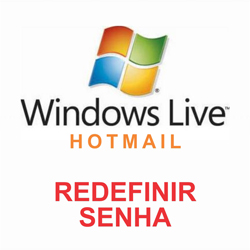 Redefenir senha Hotmail