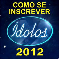 Ídolos 2012 inscrever