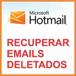 Recuperar emails deletados do Hotmail