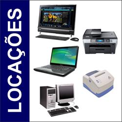 Locação de computadores, servidores, impressoras, notebooks e acessórios