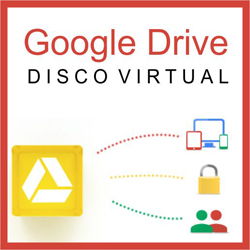 Google Drive Disco Virtual