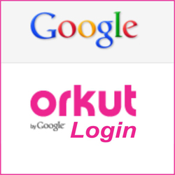Fazer login no Orkut e entrar