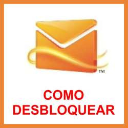 Desbloquear conta do MSN Messenger e Hotmail