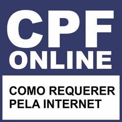 Tirar CPF de graça pela internet