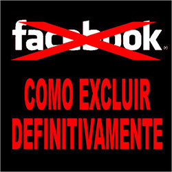 Sair do Facebook e excluir definitivamente