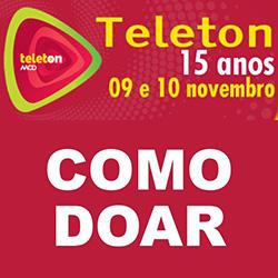 Como doar para o Teleton 2012 do SBT?