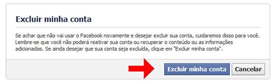 Apagar Facebook Sempre