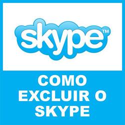 Skype Excluir Deletar