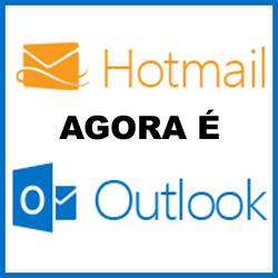 Quando entro no Hotmail porque aparece o outlook.com?