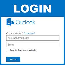 Fazer login no Outlook.com
