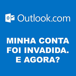 Conta outlook.com invadida