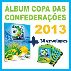 Copa Confederações 2013 álbum figurinhas comprar