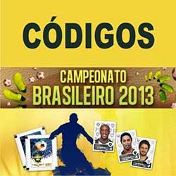 Códigos para o Álbum Virtual do Brasileirão 2014