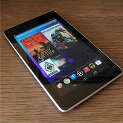 Tablet Nexus 7 II do Google e Asus