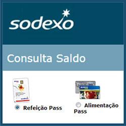 Consulta do saldo do cartão Pass Sodexo